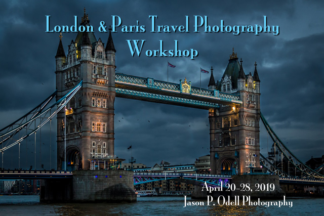 London & Paris Photo Workshop 2019